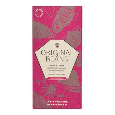 Original Beans Piura Porcelana 75% Dark Chocolate 70g