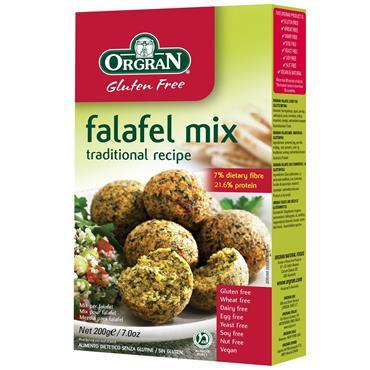 Orgran Gluten Free Falafel Mix 200g
