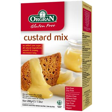 Orgran Gluten Free Custard Mix 200g