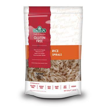 Orgran Gluten Free Rice Spirals 250g