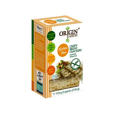 Origin Earth Gluten Free Crackers 150g