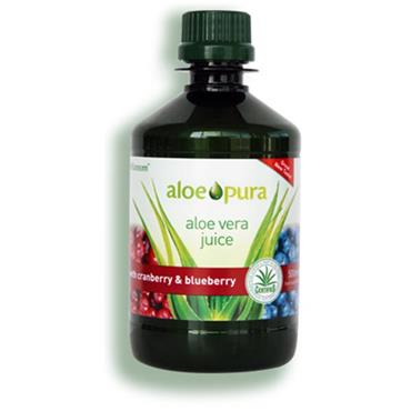 Aloe Pura Aloe Vera Juice with Cranberry