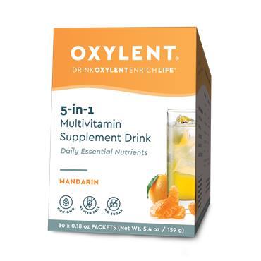Oxylent Mandarin Multivitamin drink