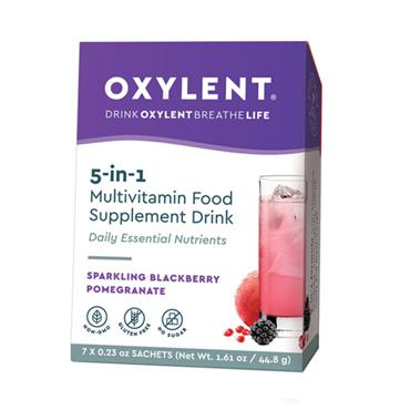 Oxylent Blackberry & Pomegranate Multivitamin drink