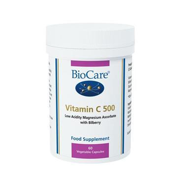 Biocare Vitamin C 500mg Capsules