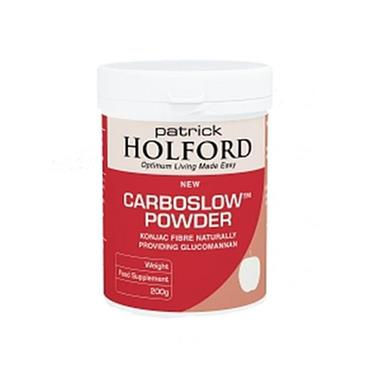 Patrick Holford Carboslow Powder/Caps