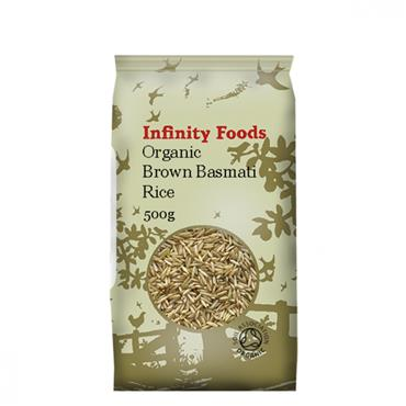 Infinity Organic Basmati Brown Rice