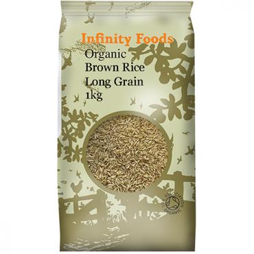 Infinity Organic Long Grain Brown Rice