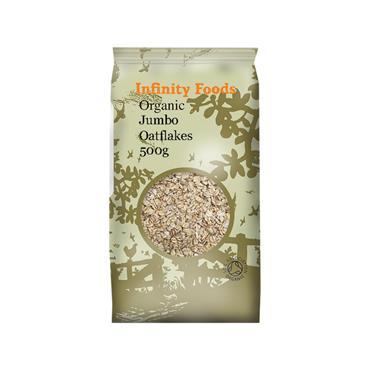 Infinity Organic Jumbo Oatflakes