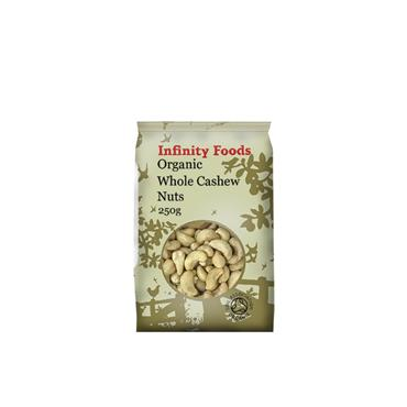 Infinity Organic Whole Cashews