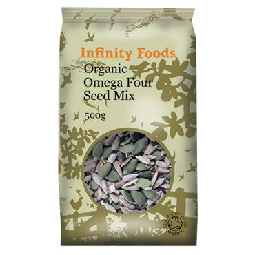 Infinity Organic Omega Four Seed Mix