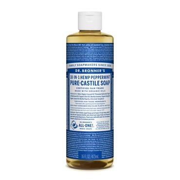 Dr. Bronner's Peppermint Castille Liquid Soap