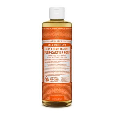 Dr. Bronner's Tea Tree Castile Liquid Soap