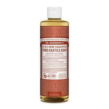 Dr Bronner's Eucalyptus Castile Liquid Soap