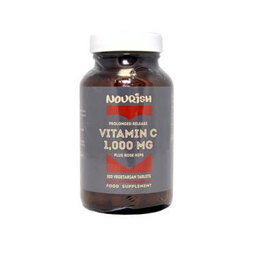 Nourish Vitamin C 1,000 mg plus Rose Hips