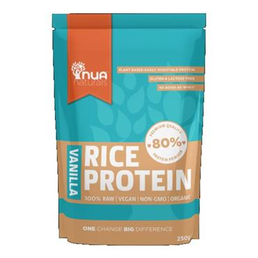 NUA Naturals Natural Rice Protein Powder Vanilla