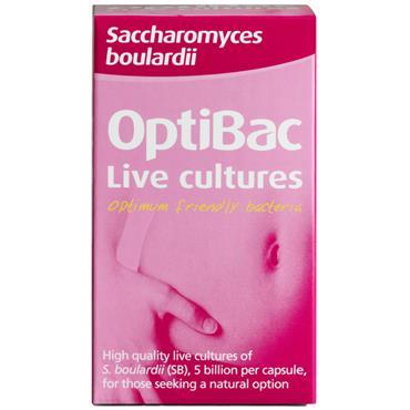 Optibac Live Cultures Saccharomyces Boulardii