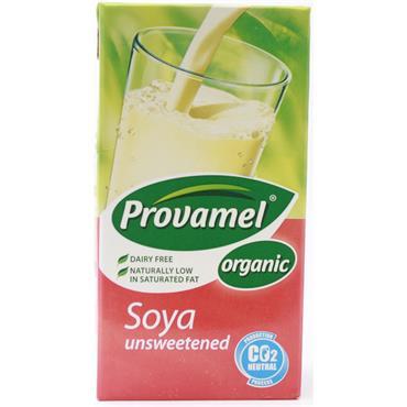 Provamel Organic Unsweetened Soya Drink