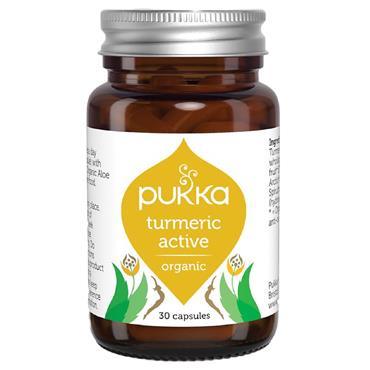 Pukka Active Capsules (Turmeric & Boswellia)