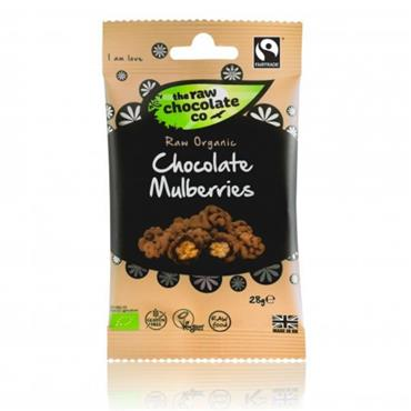 The Raw Chocolate Company Organic Raw Chocolate Mulberries