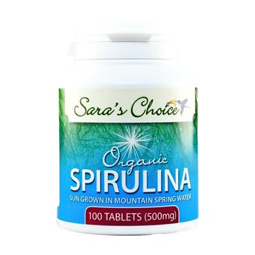 Sara's Choice Organic Spirulina Tablets