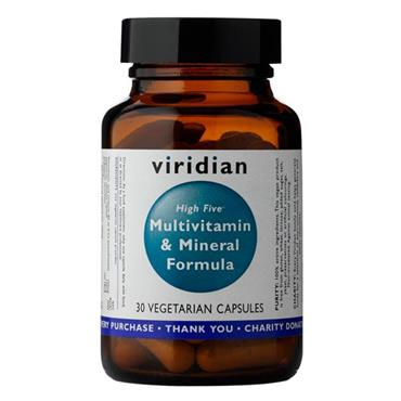 Viridian High Five Multivitamin and Mineral Formula