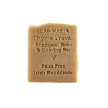 Palm Free Irish Soap Thyme Shampoo & Shaving Soap Bar