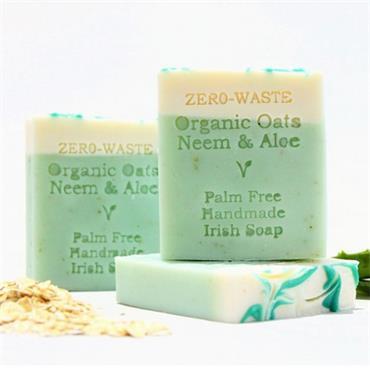 Palm Free Irish Soap Organic Oat Neem & Aloe Soap Bar