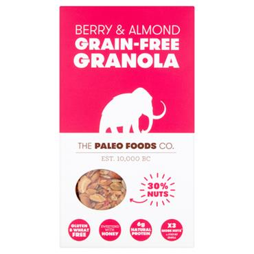 The Paleo Foods Co. Berry and Almond Grain Free Granola 300g