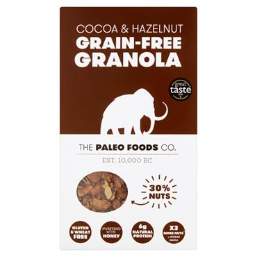 The Paleo Foods Co. Cocoa and Hazelnut Grain Free Granola 300g
