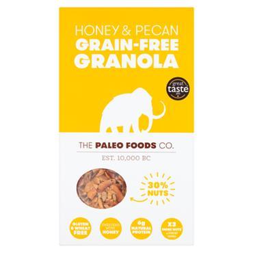 The Paleo Foods Co. Honey and Pecan Grain Free Granola 300g