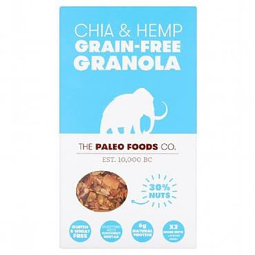 The Paleo Foods Co. Chia & Hemp Granola 300g