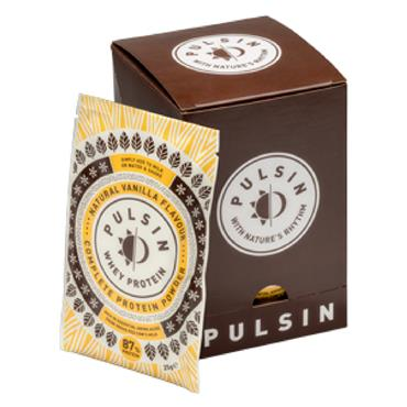 Pulsin Vanilla Whey Protein 25G Powder