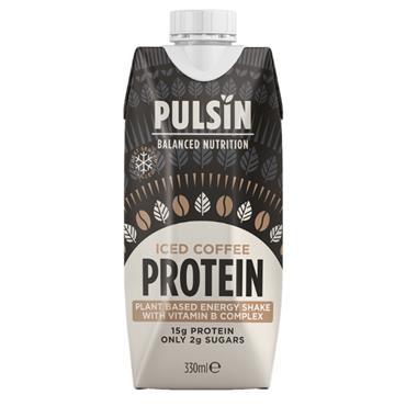 Pulsin Iced Coffee Protein Shake 330ml