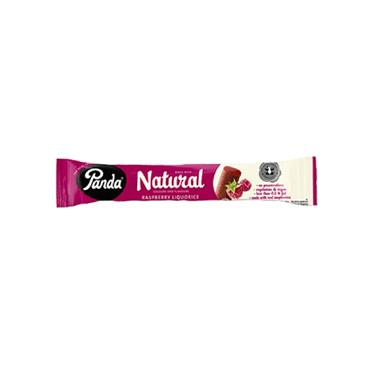 Panda All Natural Raspberry Liquorice Bar 32g