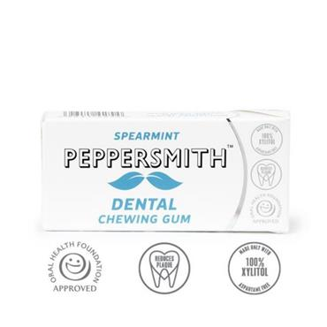Peppersmith- Xylitol Spearmint Gum 10s