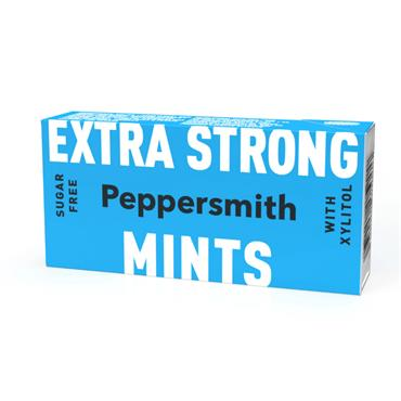 Peppersmith Extra Strong Eucalyptus & Peppermint Xylitol Mints 15g
