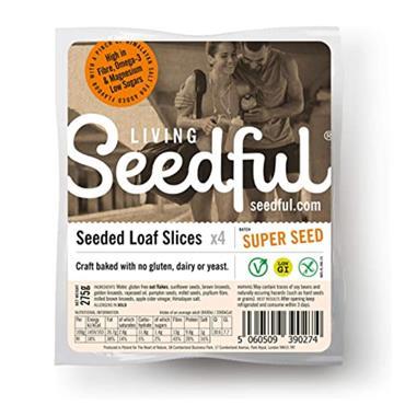 Living Seedful Original Super Seed Gluten Free Bread 275g