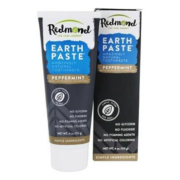 EarthPaste Peppermint with Charcoal Toothpaste 113g