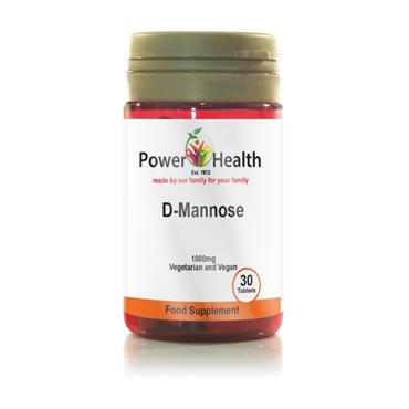 POWER HEALTH D MANNOSE 30s