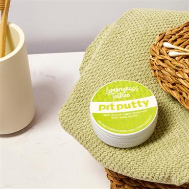 Pit Putty Lemongrass & Tea Tree Natural Deodorant 65g