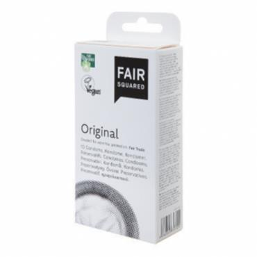 Fair Squared Vegan Condoms 10s