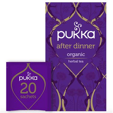 Pukka After Dinner Tea 20 Sachets