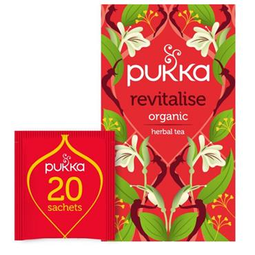 Pukka Revitalise Tea 20 sachets