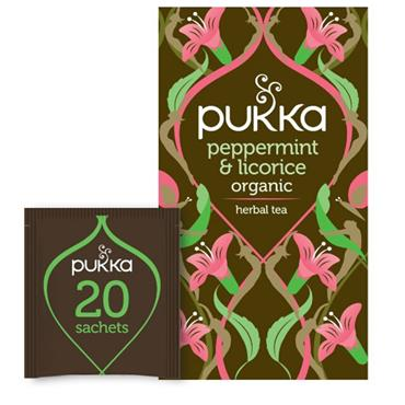 Pukka Peppermint & Licorice 20 sachets