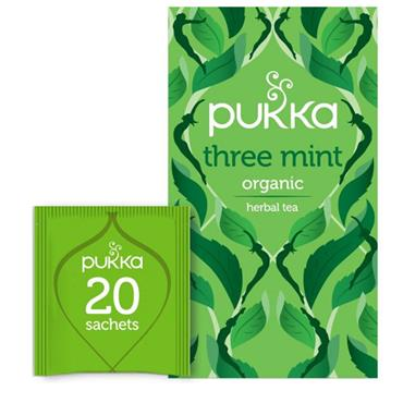 Pukka Three Mint Tea 20 sachets