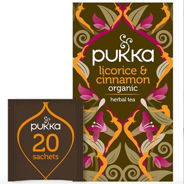 Pukka Licorice & Cinnamon Tea 20s