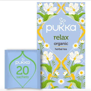 PUKKA ORG RELAX HERB TEA 20s^^