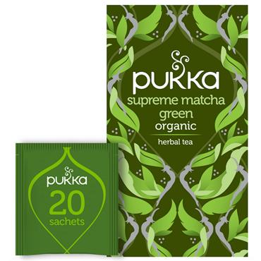 Pukka Supreme Matcha Green Tea 20 teabags