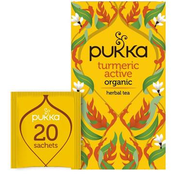 Pukka Turmeric Active Tea 20s